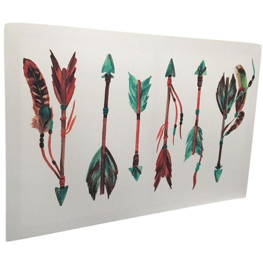 Multicoloured Arrows Print Framed Canvas 40cm x 60cm 2