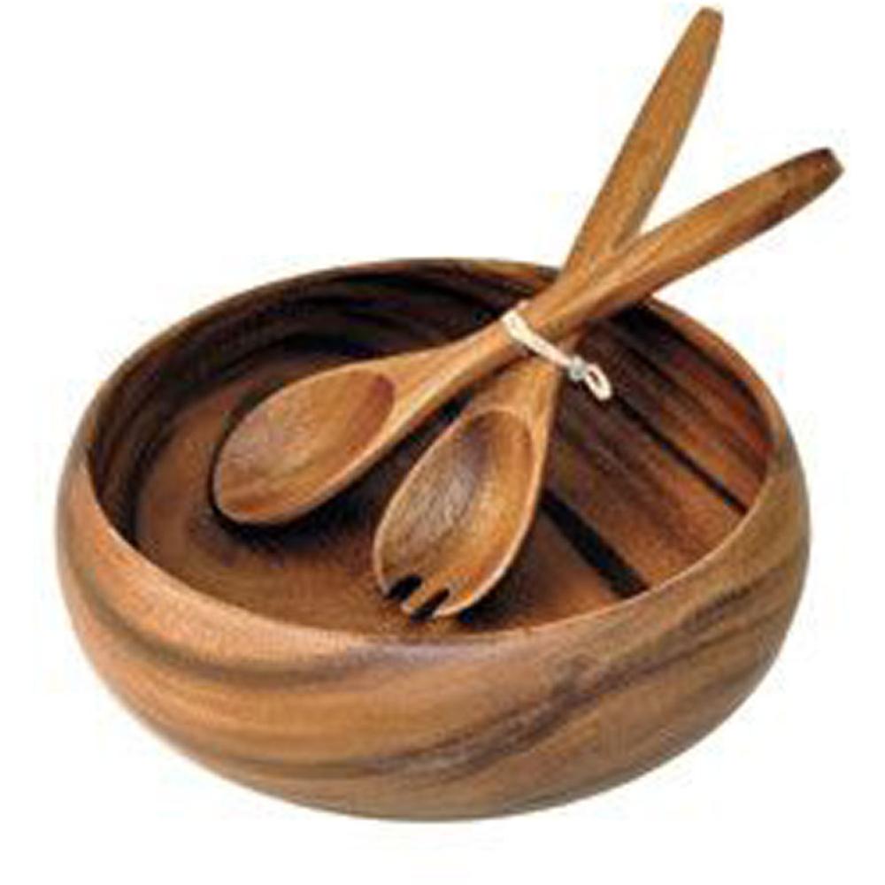 Acacia Calabash Wooden Bowls 6