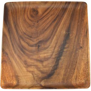 Acacia Square Wooden Plates 3