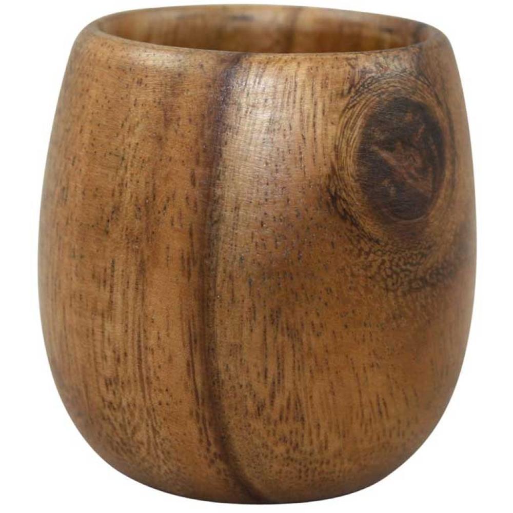 Acacia Wooden Tea Cup 2