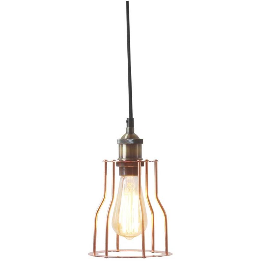 Rustic Matt Metal Pendant Lamp 1