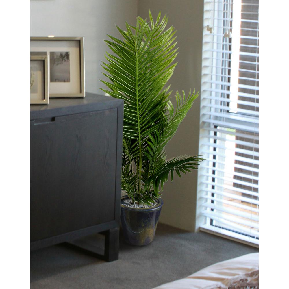 Artificial Phoenix Palm Plant In Pot 120cm 3