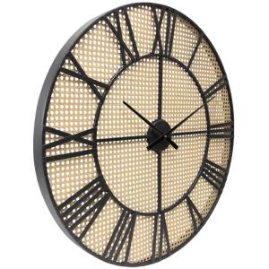 Large Round 70cm Mesh Pattern Metal Wall Clock 5