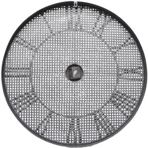 Large Round 70cm Mesh Pattern Metal Wall Clock 7