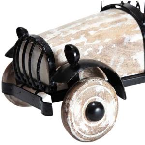 Mangowood & Metal Decorative Vintage Car 6