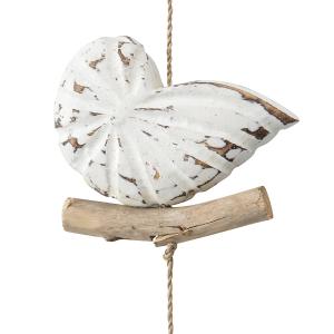Driftwood String Of Shells Hanging Decor 3